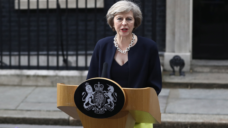 Theresa May Succeeds David Cameron As The UK's New Prime Minister