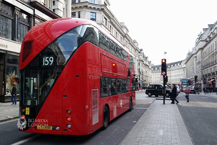 Газ….спирачка – запазената марка на автобусите в Лондон