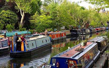 Little Venice в Лондон – глътка въздух