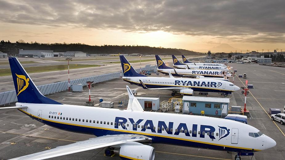 Ryanair отменя 190 полета от 5 държави на 28 септември