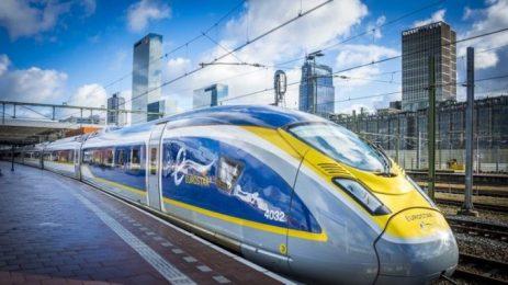 От Лондон до Амстердам с влак под Ла Манша за 3 часа и 41 минути