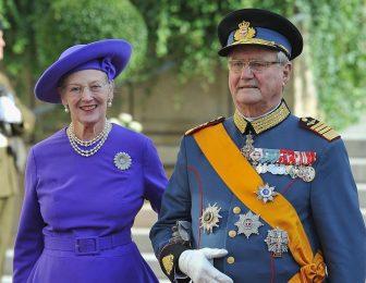 Датската кралица Маргрете Втора се сбогува със съпруга си