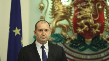 Румен Радев: На Вас се пада мисията да възродите парламентаризма