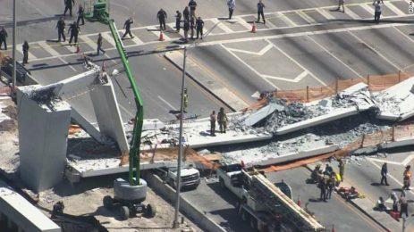 Между шест и десет души са загинали при срутването на моста във Флорида
