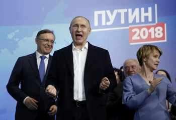 Германия и Франция пожелаха успех на Путин