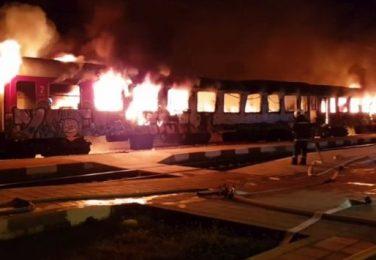 Късо съединение вероятно е запалило влака София-Бургас