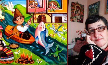Наша художничка направи фурор във Франция