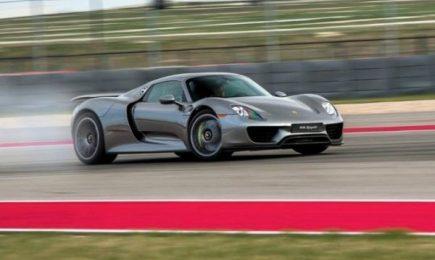 Ръжда подгони Porsche 918 Spyder