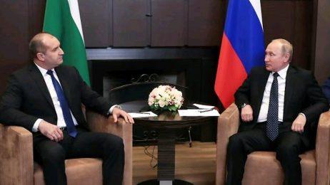 Руският печат коментира вчерашната среща между Румен Радев и Владимир Путин