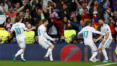 """""""Реал"""" се класира на трети пореден финал в Шампионската лига"""
