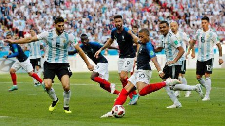 Отборът на Франция се класира за четвъртфиналите Мондиала в Русия
