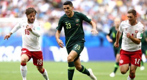 Дания оцеля срещу Австралия -1:1 -1:1