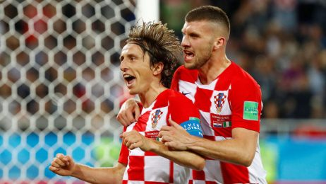 Хърватия оглави класирането в група D след победа над Нигерия