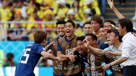 Япония изненада десет от Колумбия