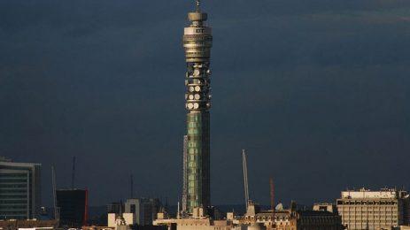 Кулата на BT става хотел за една нощ