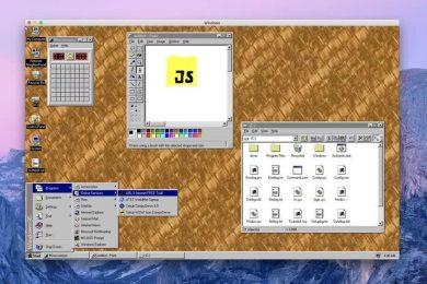 Windows 95 бе преобразувана в приложение, което може да се инсталира в macOS, Linux и Windows