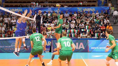 Българските волейболисти излизат срещу световния шампион