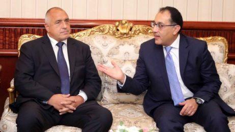 Бойко Борисов: Искаме трайно активизиране на политическия диалог с Египет