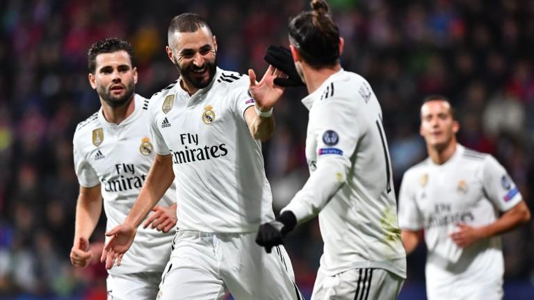 Реал (Мадрид) разби Виктория (Пилзен) с 5:0 като гост