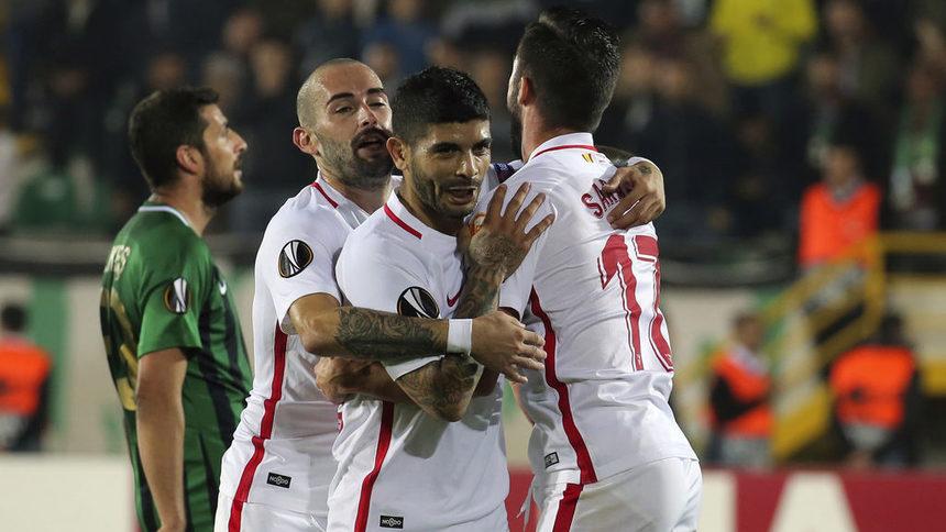 """""""Севиля"""" е новият лидер в испанското първенство"""
