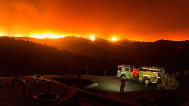 9 са жертвите на горските пожари в Калифорния