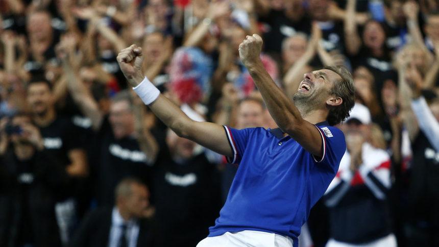 """Франция посреща Хърватия в исторически финал за купа """"Дейвис"""""""