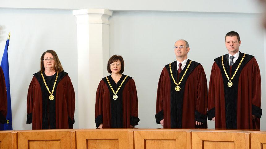 Четиримата нови конституционни съдии се заклеха
