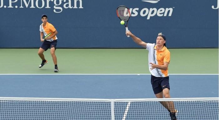 Адриан Андреев отпадна на полуфиналите на двойки в САЩ