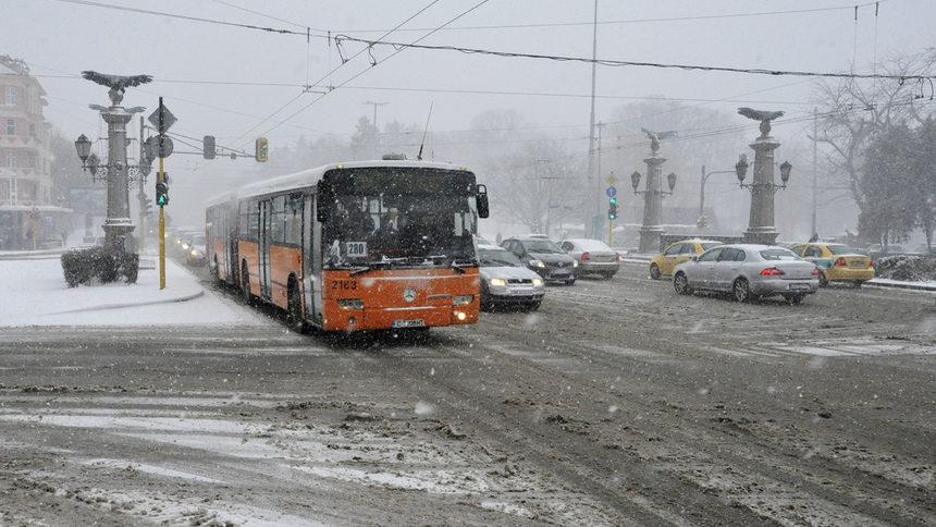 Четири области в Северна България да се готвят за сняг