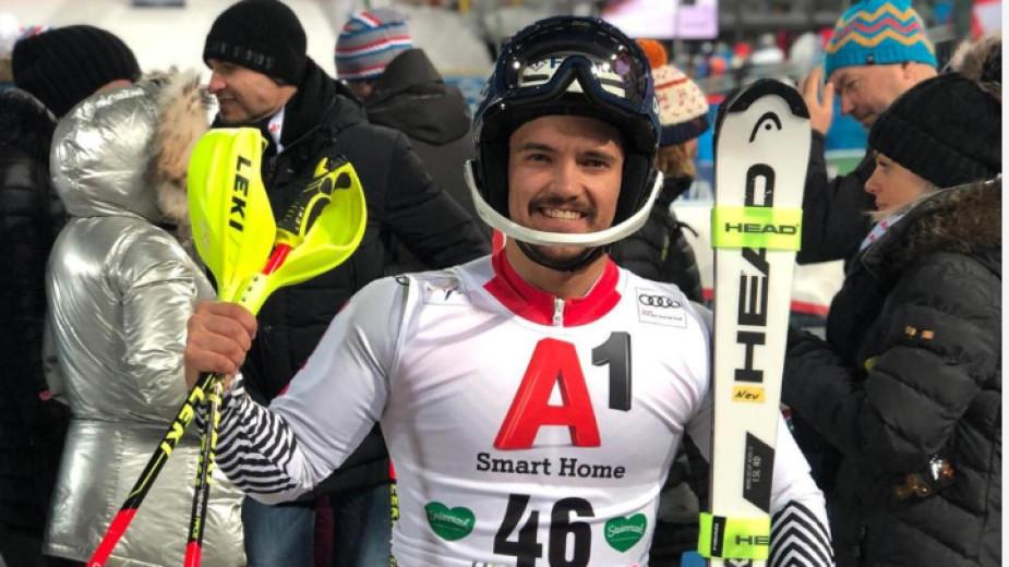 Алберт Попов се надява на пробив в слалома на световното първенство