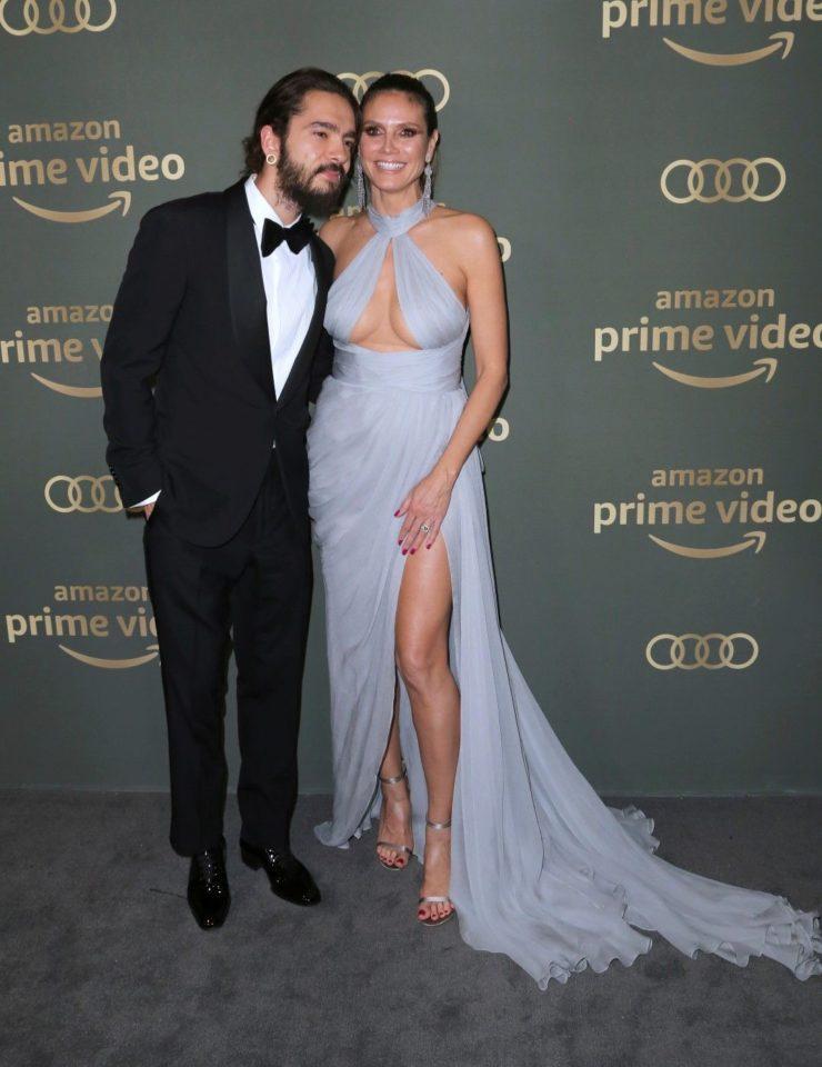Хайди Клум и Том Каулиц се появиха за първи път след годежа си
