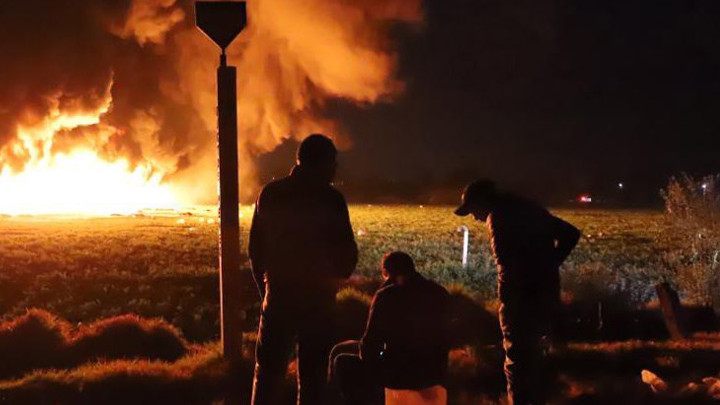 66 станаха жертвите на избухналия тръбопровод за гориво в Мексико