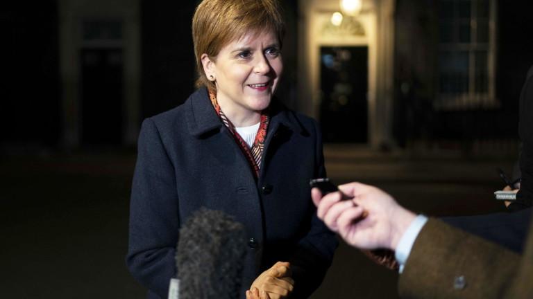 Никола Стърджън: Шотландия ще бъде независима държава до 5 г.