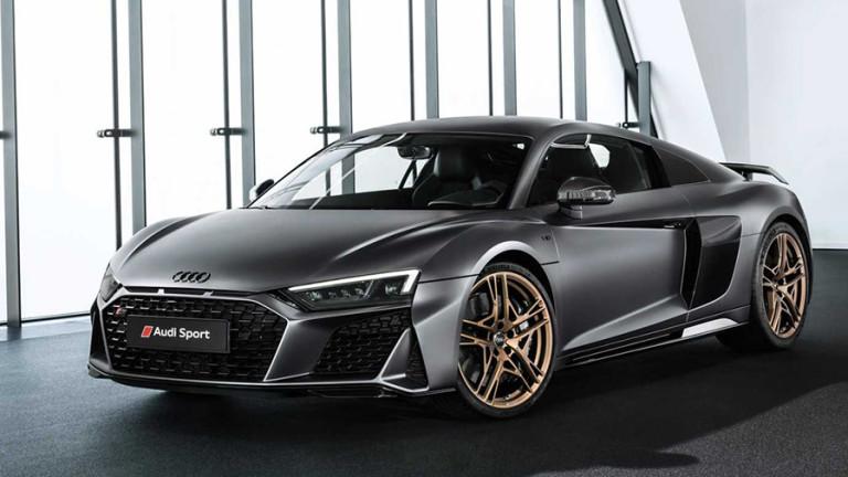 Audi направи юбилеен суперавтомобил за 222 хиляди евро