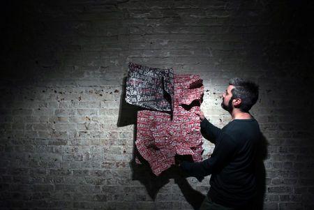Изложба, вдъхновена от Брекзита, беше представена в Лондон