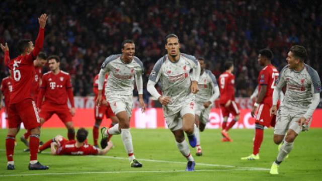 """""""Байерн"""" рухна в Мюнхен, """"Ливърпул"""" е на четвъртфинал"""