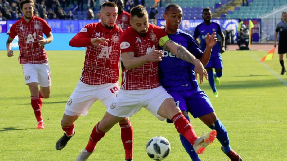 ЦСКА-София и Левски разделиха точките в слаб мач