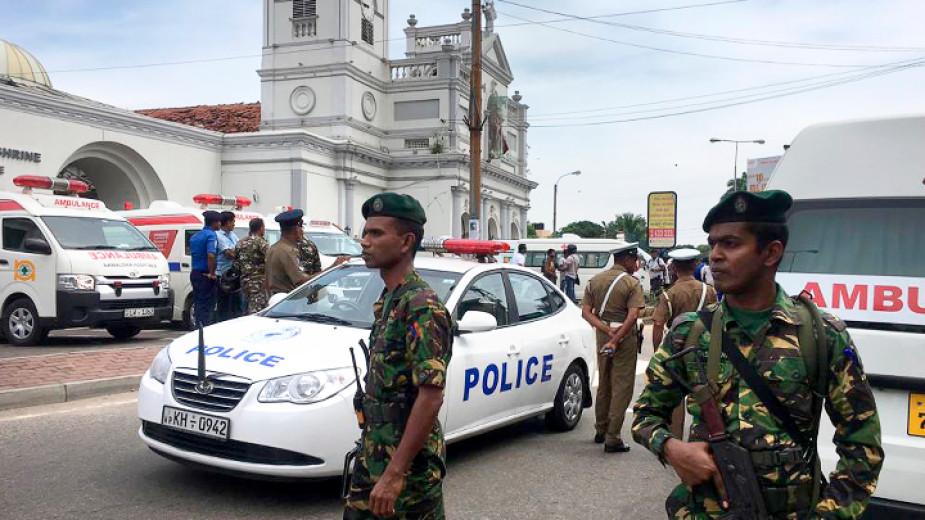 Броят на загиналите при терористичните нападения в Шри Ланка нарасна на 290 души