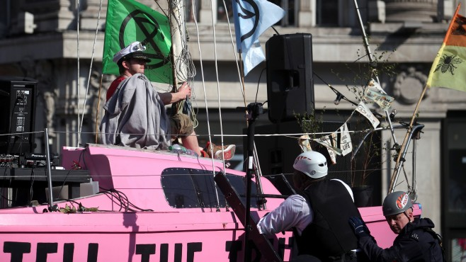 Новото протестно екодвижение, което разтърси Лондон