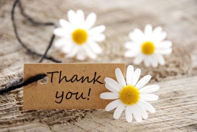 Благодарността е най-здравословната от всички човешки емоции