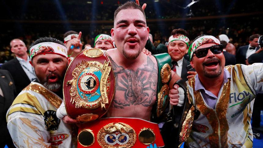 Кой е Анди Руис: шишкото, свалил Антъни Джошуа от върха в бокса