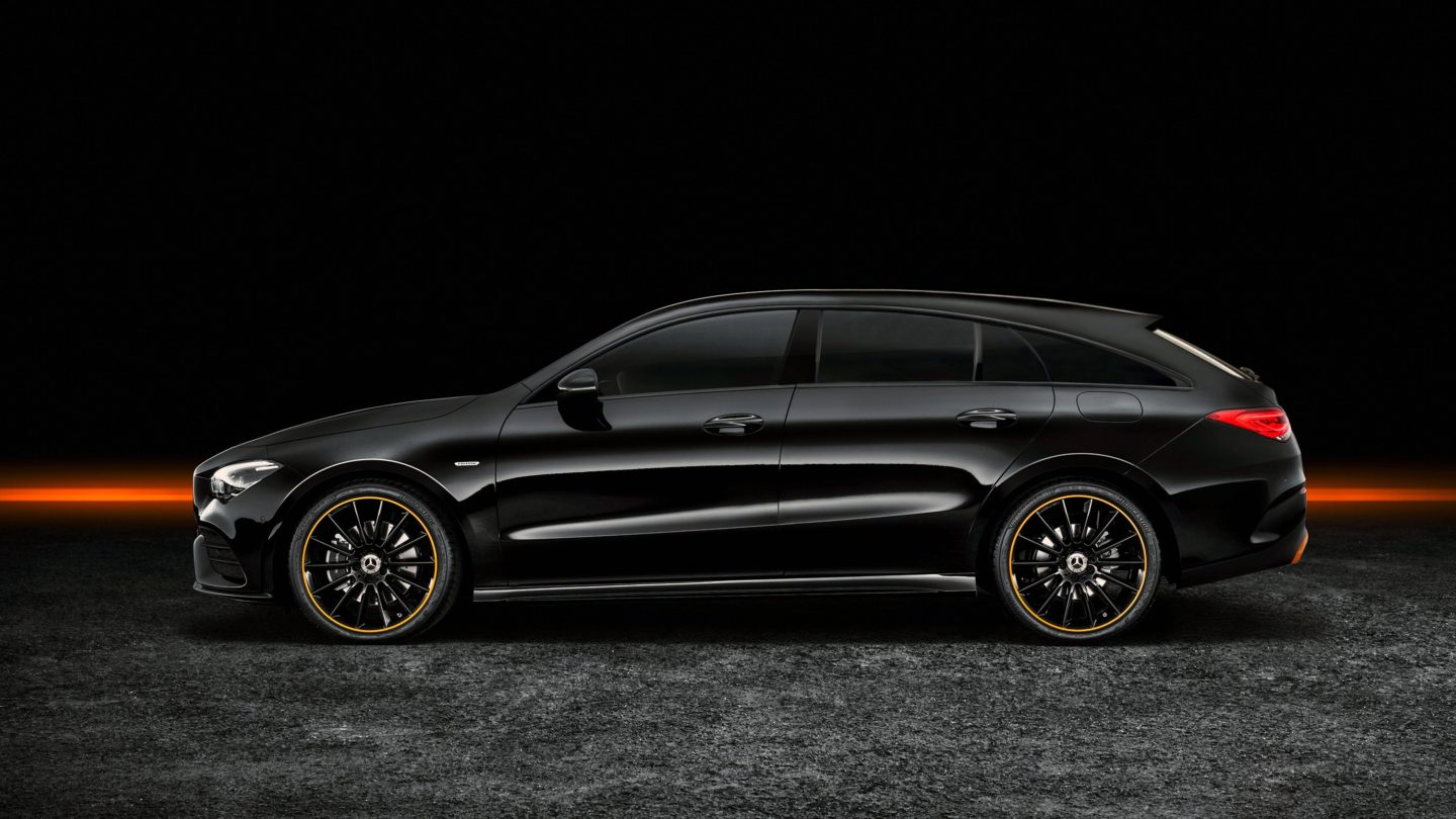New Mercedes-AMG CLA Shooting Brake 2020