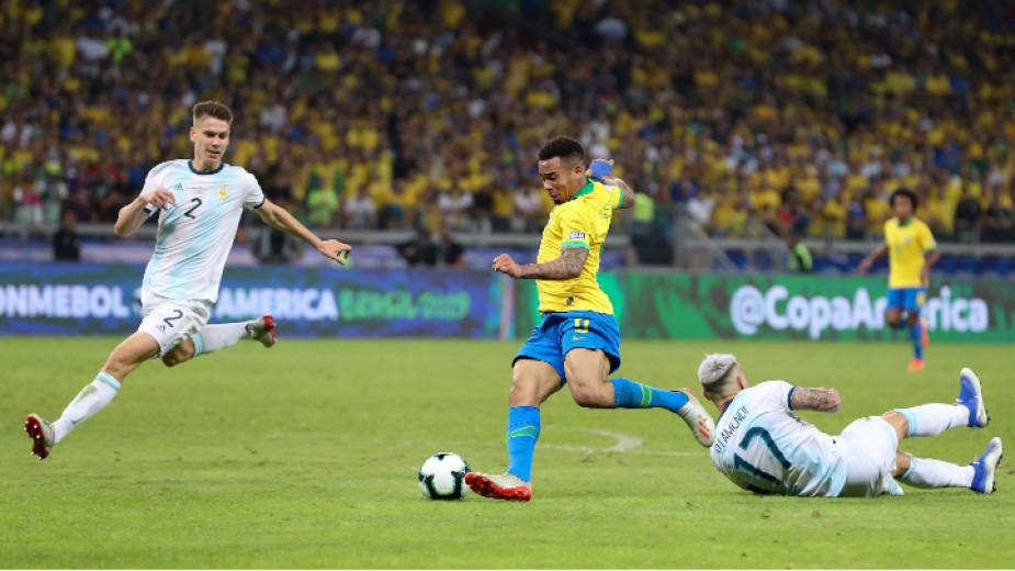 Греди за Аржентина, голове за Бразилия