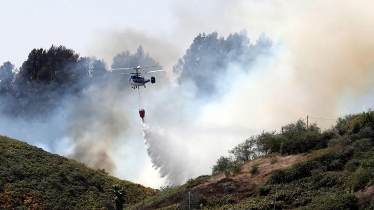 Няма пострадали българи при пожарите на Гран Канария