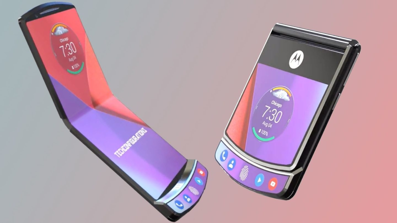 Сгъваем Motorola Razr идва до края на годината