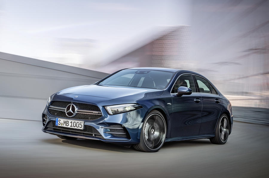 New Mercedes-AMG A35 Saloon (Sedan) 2020