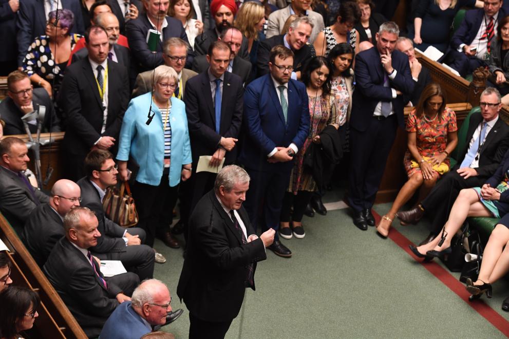 Британският парламент отхвърли за втори път искането на Борис Джонсън за предсрочни избори