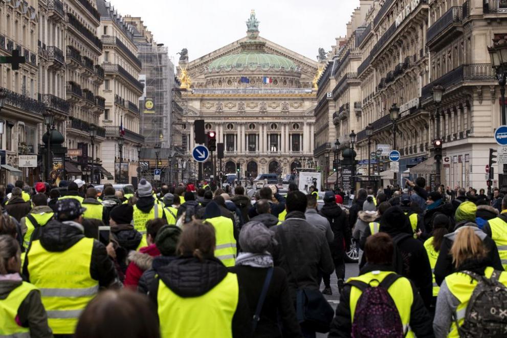 """""""Жълтите жилетки"""" отново на протест"""