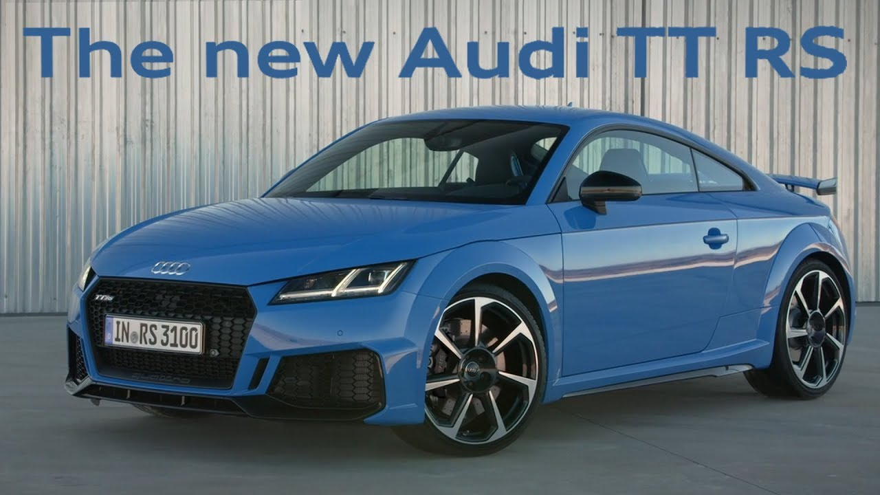 Audi TT RS 2020 review