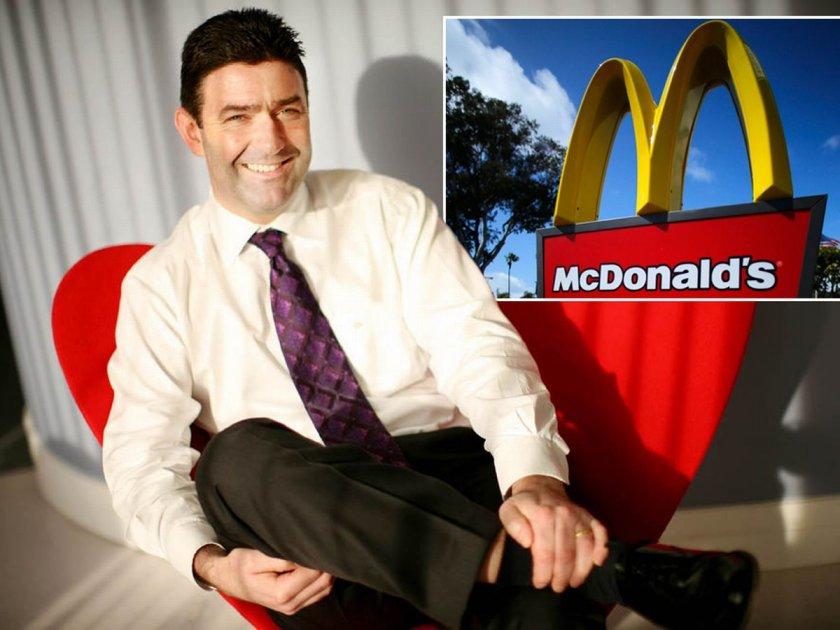 Уволниха шефа на McDonald's заради секс скандал